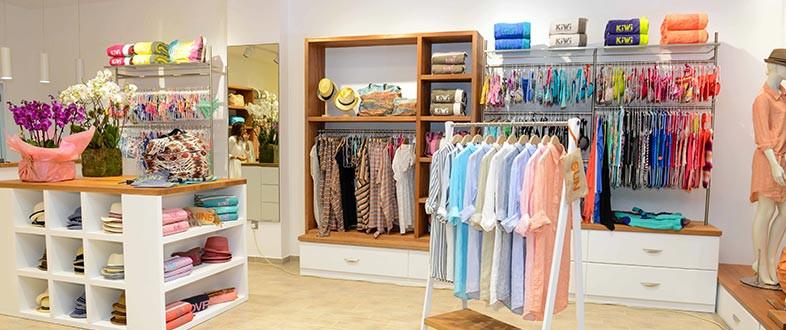 Les boutiques Kiwi